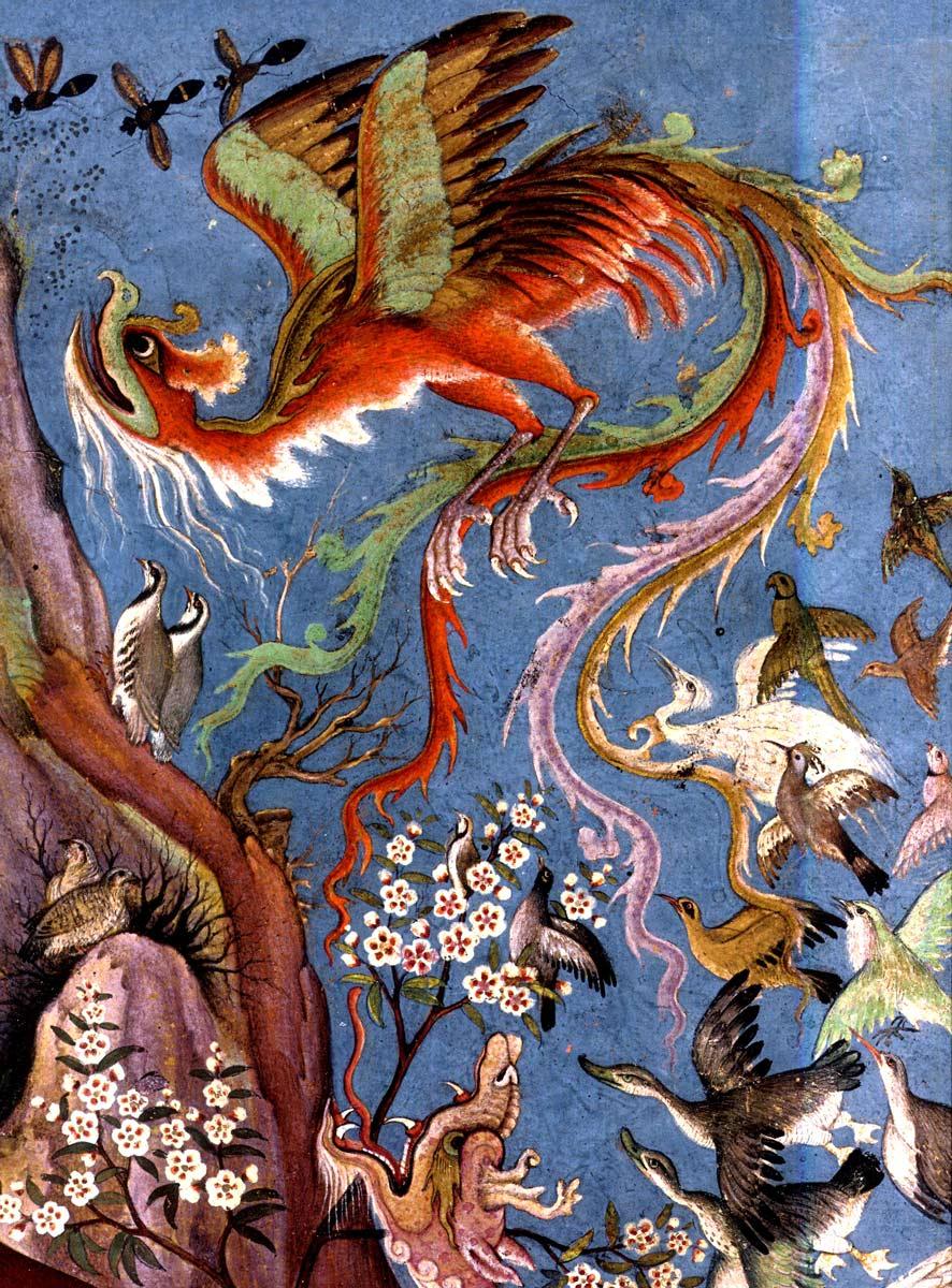 Le simorgh dans le cantique des oiseaux d'Attar