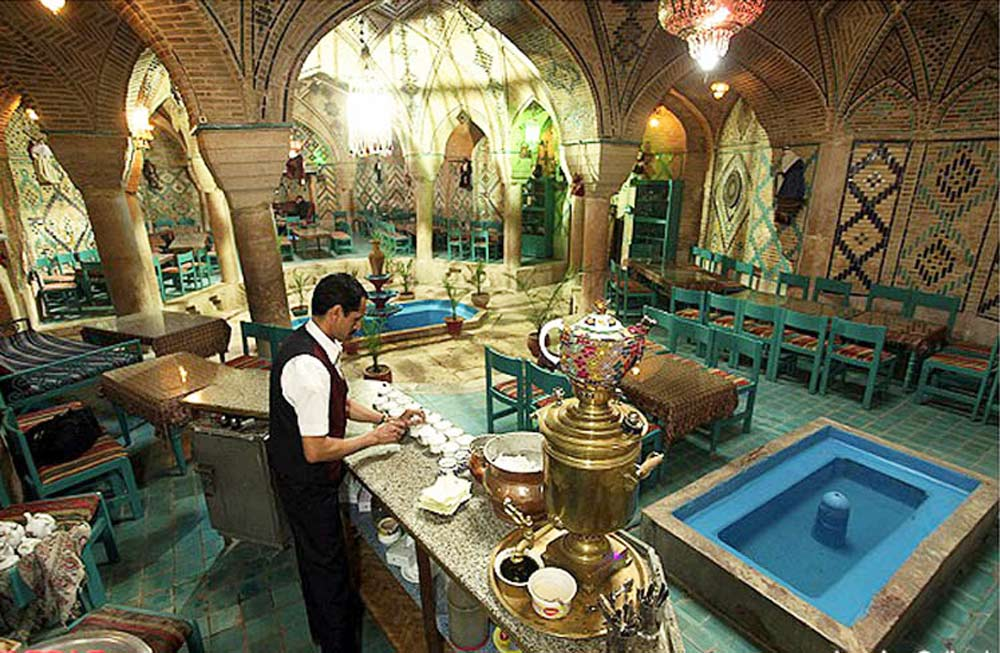 Restaurant traditionnel iranien